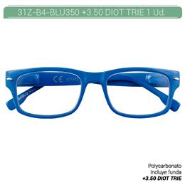 ZIPPO B-CONCEPT 31Z-B4 READING GLASSES BLUE +3.5 DIOT TRIE 1 Ud. 2004933