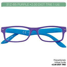 ZIPPO PURPLE READING GLASSES +2.00 DIOT TRIE 1 Ud. 31Z-B5-PUR200 230218