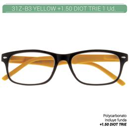 ZIPPO YELLOW READING GLASSES +1.50 DIOT TRIE 1 Ud. 31Z-B3-YEL150 2004911