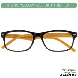 ZIPPO YELLOW READING GLASSES +2.00 DIOT TRIE 1 Ud. 31Z-B3-YEL200 2004912