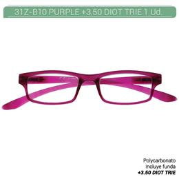 ZIPPO PURPLE READING GLASSES +3.50 DIOT TRIE 1 Ud. 31Z-B10-PUR350 230218