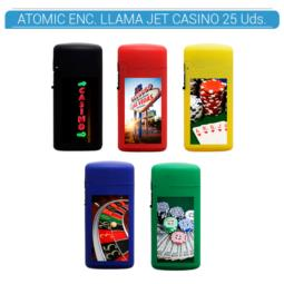 ATOMIC ENC. JET FLAME CASINO 25 Uds. 88.00071